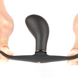 ポンプで膨らむ!シリコン製◇インフレータブル・前立腺プラグ